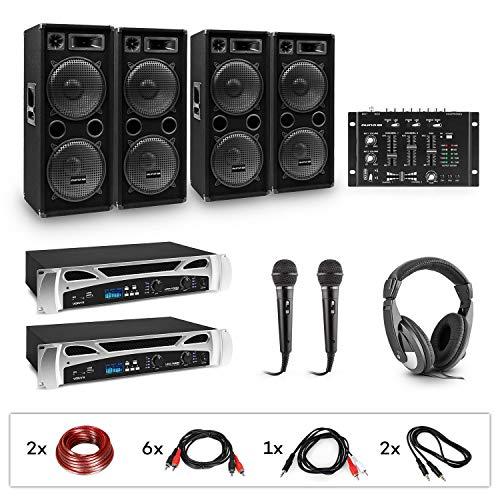 Electronic Star Bass Party - Equipo de DJ, 2 amplificadores