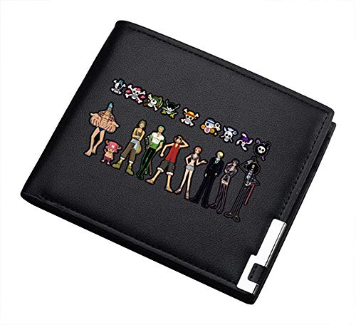 Gumstyle Anime One Piece Artificial Leather Wallet Billfold Money Clip Bifold Card Holder 8 B