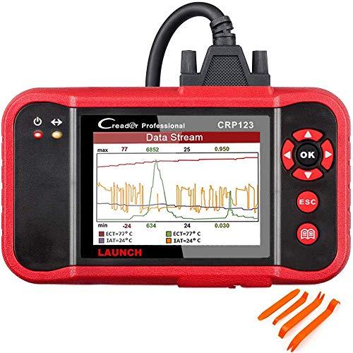 LAUNCH OBD2 Scanner CRP123  2021 Model Engine/ABS/SRS/Transmission Diagnostic Scan Tool SRS Code ReaderFree Update