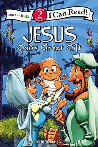Jesus, God's Great Gift: Biblical Values, Level 2 (I Can Read! / Dennis Jones Series)