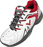 VICTOR schuh/A610II white/red-41, Zapatillas de Bádminton Unisex Adulto, Color Rojo Blanco, 41 EU