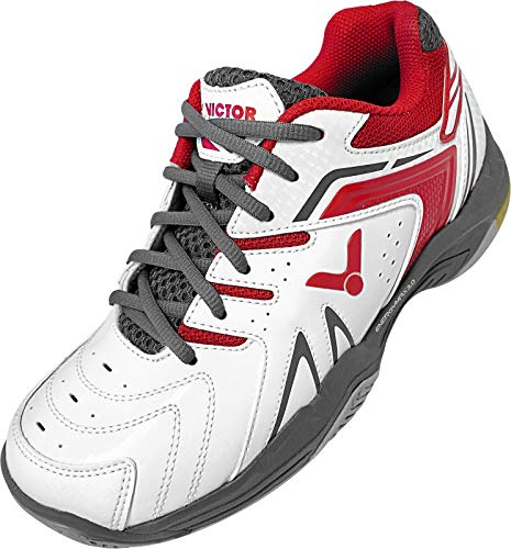 VICTOR Badmintonschuh/Squashschuh/Traininsschuh A610II White/red - 43