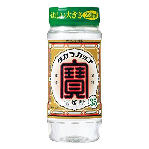 宝酒造 宝 焼酎 カップ35° 220ml ペットカップ [2363]