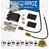 330031 Top Burner Receptacle Kit (4-Pack) by PartsBroz - Compatible with Whirlpool Ranges - Replaces...