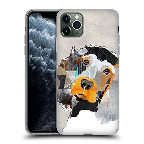 Head Case Designs Oficial Michel Keck Setter irlandés Perros 3 Carcasa de Gel de Silicona Compatible con Apple iPhone 11 Pro MAX
