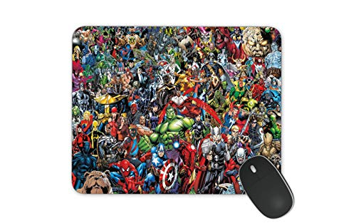 Marvel Mouse Pad HD Printed Mouse Pad Large Mouse Pad Office Mouse Pad (Marvel)