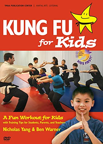 Kung Fu for Kids YMAA age 7-12 exercise workout DVD