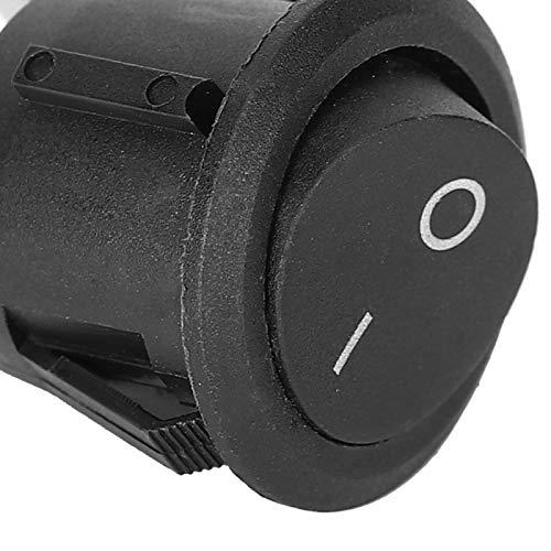 Interruptor redondo ON-OFF KCD1 Interruptor basculante 2 pines Accesorios industriales para electrodomésticos