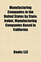 Manufacturing Companies in the United States by State: Irobot, Manufacturing Companies Based in California