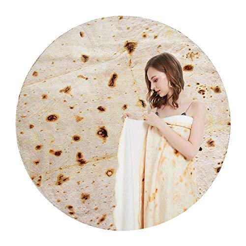 Kris Burrito Blanket,Giant Funny Burrito Tortilla Blanket for Adult & Kid,Novel and Realistic...
