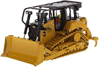 Diecast Masters CAT Caterpillar D6 Track Type Tractor Dozer with SU Blade and Operator High Line Series 1/50 Diecast Model 85553