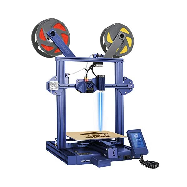 Lotmaxx Shark 3D Printer with Auto Leveling, FDM 3D Printer with 3.5″ TFT Touch...