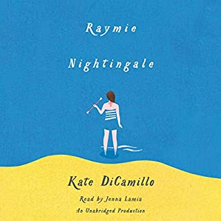Raymie Nightingale audiobook cover art