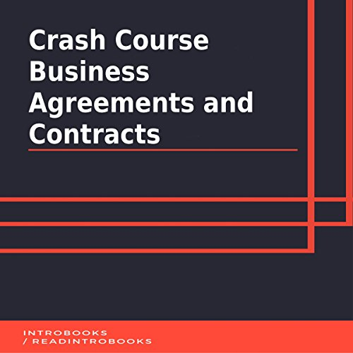 Crash Course Business Agreements and Contracts cover art