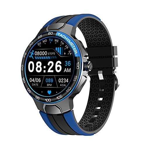 AKY E15 Reloj Inteligente para Hombres y Mujeres, Ritmo cardíaco Monitoreo de la presión Arterial Tiempo Impermeable GPS Seguimiento Fitness Deportes Smart Watch PK P8 L5 L8 E13,A