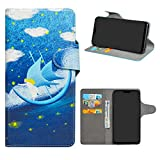 HHDY Asus Zenfone Max Pro (M2) Case, Flip PU Leather Wallet