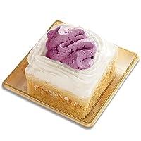 [コミフ 飼い主も一緒に食べられるスイーツ] 紅いもと豆乳のショートケーキ ペットケーキ