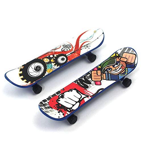 Kwangchow Finger Skateboard Set Finger Skateboards Mini Griffbrett Bunt Skatepark Spielzeug Professionelle Fingerboard Für Kinder Als Geburtstag Geschenk Kleinspielzeug(Zufällige Farbe)