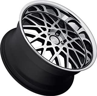 Concept One 771 RS-22 Matte Black Wheel with Machined Lip Finish (20x8.5