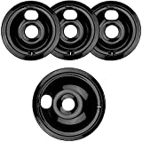 electric 1 burner cooktop - WB31M20 and WB31M19 Porcelain Burner Drip Pan Bowls Replacement By AMI PARTS Fits GE/Hotpoint Electric Range Cooktop Includes 1 8-Inch and 3 6-Inch Drip Pans