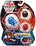 Bakugan Starter Pack 3-Pack, Aquos Webam, Collectible Action Figures, for Ages 6 and Up,