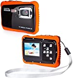 LCSW Brainstorm Children Waterproof Camera, Underwater Sports Camera Camcorder HD720p 12MP Digital Sports Camera, with 16GB Memory Card, 8X Digital Zoom
