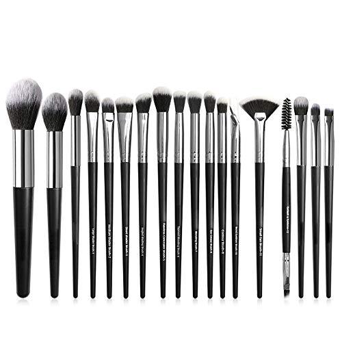 GBY Lot de 18 pinceaux de maquillage professionnels avec étui