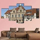 JJJKK Bilder Kunstdrucke - 5 Teilige Wandbilder - Rathaus