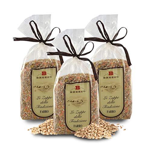 Mezcla de Cereales: Cebada Perlada, Farro, Avena y Lentejas | 500 Gramos (Paquete de 2 Piezas)