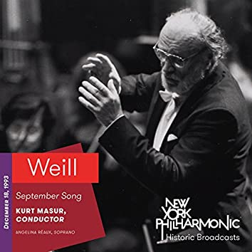 Weill: September Song (Recorded 1993)