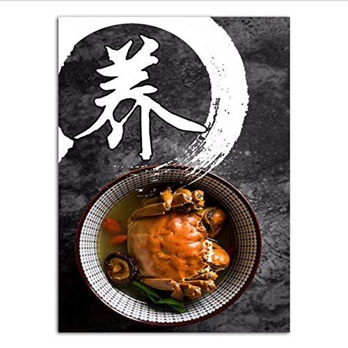 Djkaa Chinese stijl, schilderkunst, canvas, keuken, Sichuan, museum, decoratie, afbeelding, peper, Chinees, met lijst