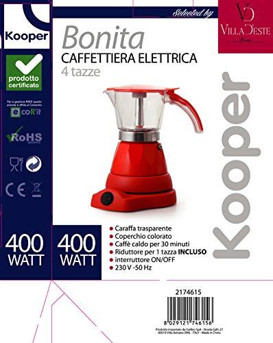 /Cafetera el/éctrica 4/TZ Kooper/