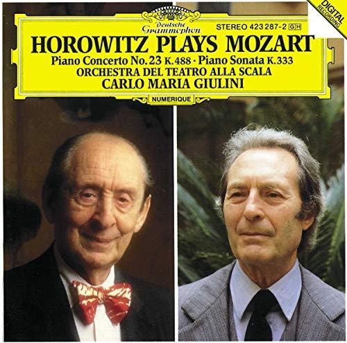 Horowitz Plays Mozart: Piano Concerto No. 23 K. 488 / Piano Sonata K. 333