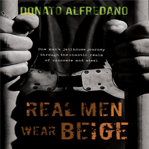 Real Men Wear Beige audiobook cover art