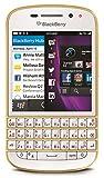 Blackberry Q10 SQN100-3 16GB 4G LTE Unlocked GSM OS 10 Phone - White/Gold