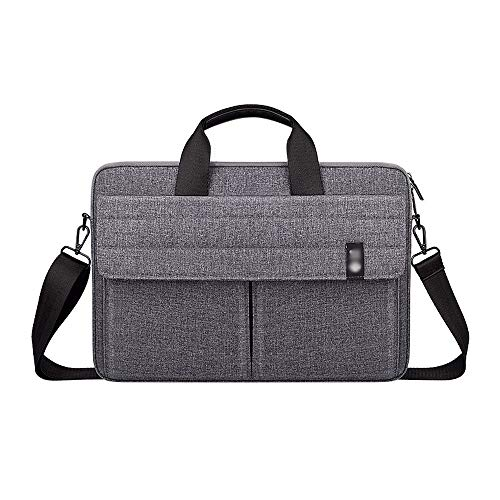 Notebook Briefcase Laptop Bag with Handles and Shoulder Strap Easy to Carry for for Men Women Travel School Lawyer use 15.6inch