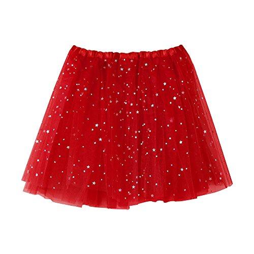 VEMOW Damen fashion rock rot einheitsgröße