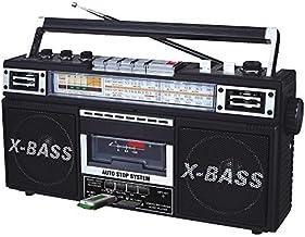 QFX J-22UBK ReRun X Radio and Cassette to MP3 Converter – Black