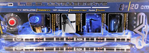 BANDE LED ULTRABRIGHT 20CM - BLEU - 2PCS