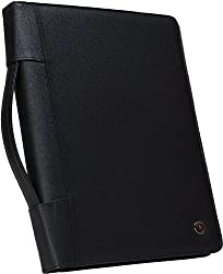 Zippered PadFoliio for keeping documents secure