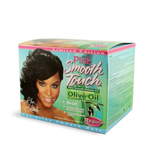 Luster's Pink Smooth Touch New Growth Relaxer Kit, Regular