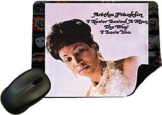 Aretha Franklin–貴方だけを愛してアルバムカバーマウスマット/パッド–by Eclipseギフトアイデア