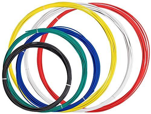 MonopriceMPeMate3D-Filamentstift fürniedrigeTemperaturenFilament - Vielfalt (Musterpaket) Ideal für Kinder/Erwachsene, die den MP Select 3D-Druckstift verwenden