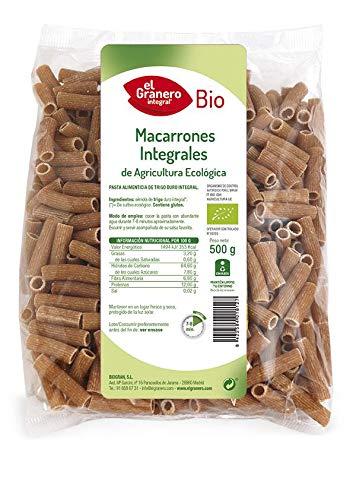 Granero Macarrones Integral Bio 500 Gr 500 g