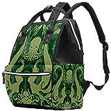 WJJSXKA Mochilas bolsa de pañales mochila para portátil mochila de viaje senderismo mochila para mujeres hombres - cthulhu monster
