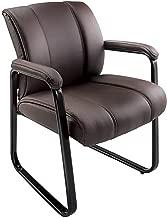 Brenton Studio Bellanca Guest Chair, Brown/Black