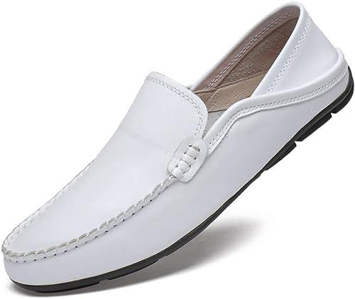XSY2 Men& 039;s Casual Peas Schuhe, Wild Driving schuhe Slipper & Slip-Ons Business-Schuhe für die Arbeit, Freizeit, Sport, Ausgehen, Zusammenkünfte