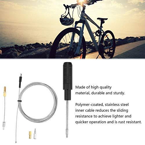 Alomejor MTB Internes Kabelführungswerkzeug Fahrrad Schaltzug Kabelsatz mit Magnet Abnehmbarer Kappe Drähten Fahrradzubehör - 3