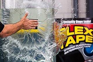 Unique Store Rubberized Waterproof Flex Instantly Stops Leaks Sealer Tape (4 Inch X 5 Feet, Black) (Flex Tape)
