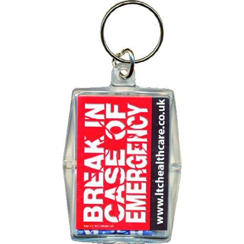 Schlüsselring mit Kondom